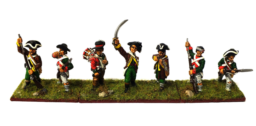 American Army (Revolution War) - 28mm