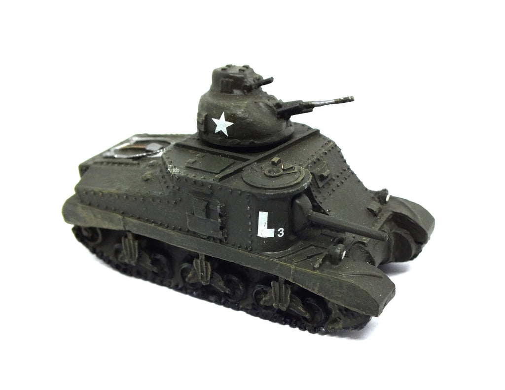 American M3 Lee medium tank in metal - 1:87