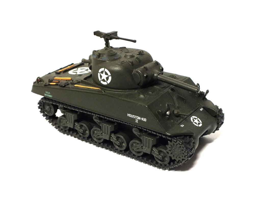 American M4 Sherman tank metal model - 1:72