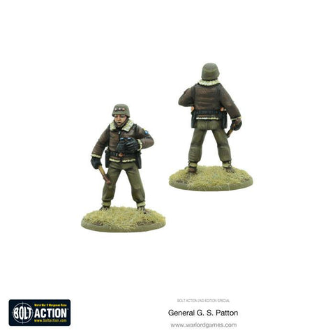 Bolt Action - General G. S. Patton - Special Edition - 28mm
