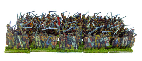 Paper Soldiers - Britons Warband (28mm) x10 stand