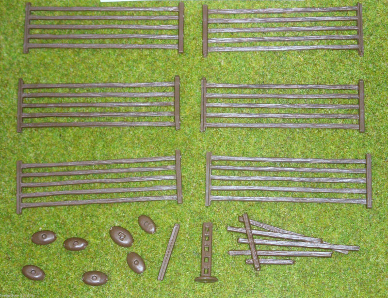 Renedra Generics - 5 Bar Fences - 28mm