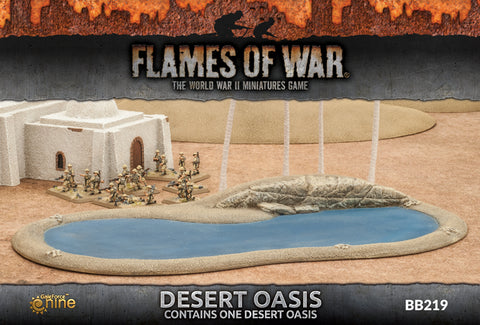 Flames of War - BB219 - Desert Oasis