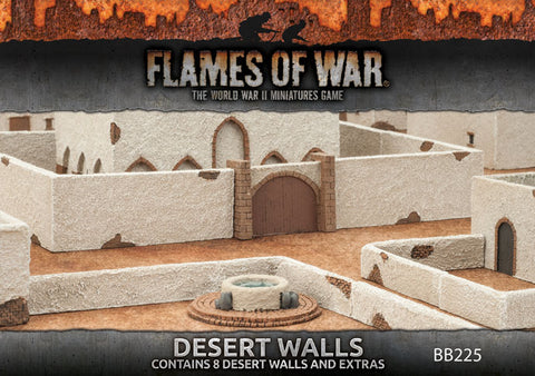 Flames of war - Desert walls - BB225