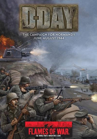 Books - Flames of war - D-Day