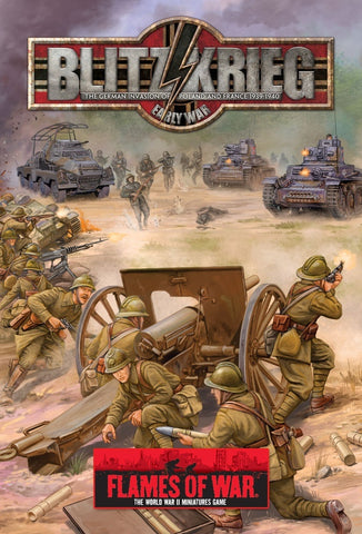 Books - Flames of war - Blitzkrieg