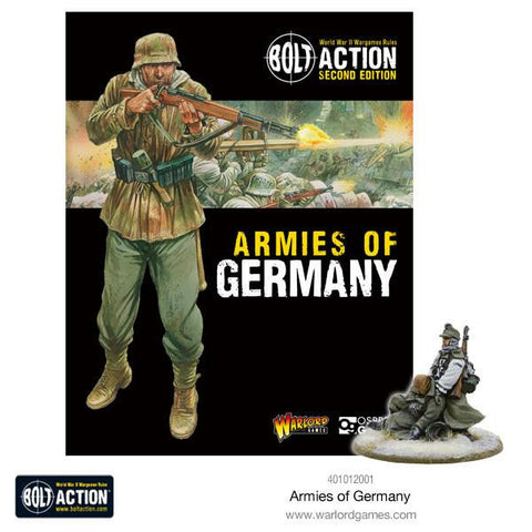 Bolt Action - Armies Of Germany Second Edition - Warlord Games
