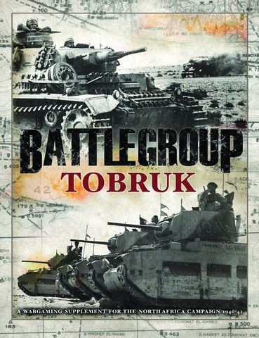 Iron Fist Publishing BP1579 - Rules - Battlegroup: Tobruk