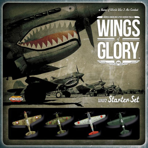Boardgame - Wings of Glory WW2 Starter Set - a Game of World War 2 Air Combat