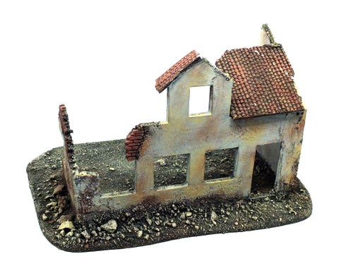 Bombed Building - 28mm