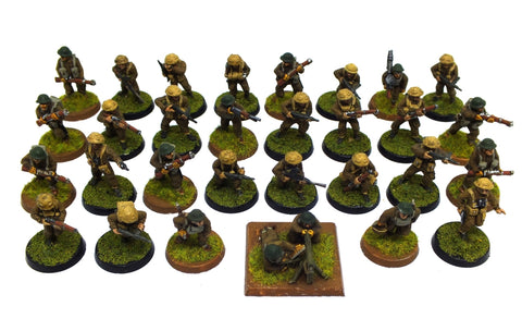 British infantry (WWII) - 28mm