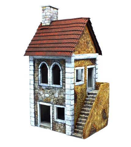 Building in Polystyrene painted - 28mm