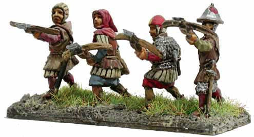 Mirliton - Crossbow men - 15mm