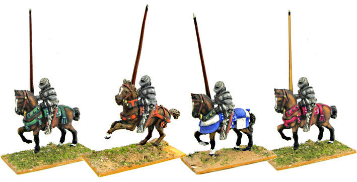 Mirliton - Italian men-at-arm with helmet 01 - 15mm
