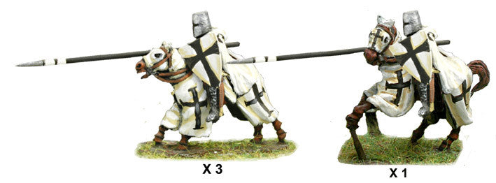 Mirliton - Teutonic Knights, charging - 15mm