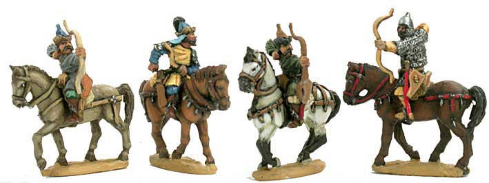 Mirliton - Russian archers and Mongol allies - 15mm