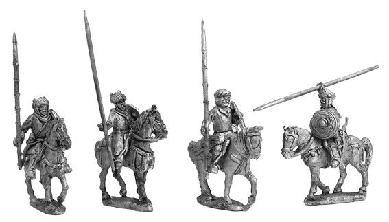 Mirliton - Bedouins mounted - 15mm