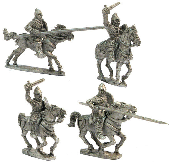 Mirliton - Heavy cavalry charging 1, XII Cent. - 15mm - CC50