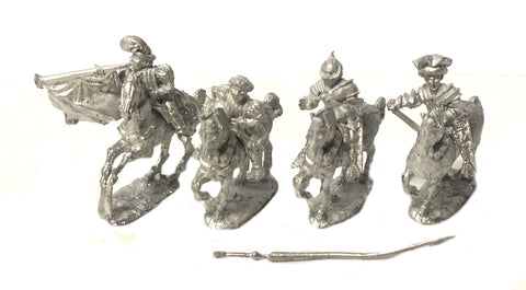 "Mirliton - ""Niccolò da Tolentino's"" command pack - 15mm"