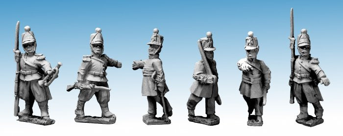 Great War Miniatures - Crimean War - French Guard Chasseur Command - CF23