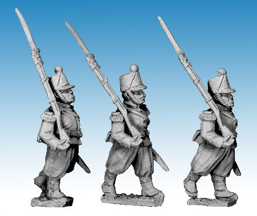 Great War Miniatures - Crimean War - French Guard Chasseur Marching - CF24A