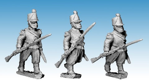 Great War Miniatures - Crimean War - French Guard Chasseur Advancing - CF24B