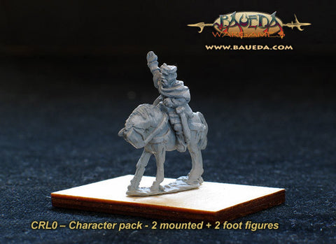Baueda - Charlemagne command (2 mtd.+2 foot) - 15mm