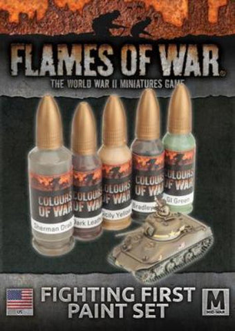 Flames of war - Fighting First Paint Set