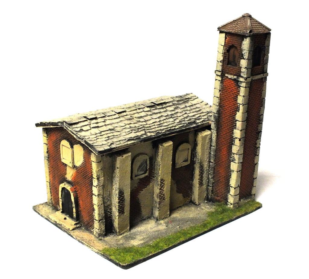 Church painted (in resin) - 28mm