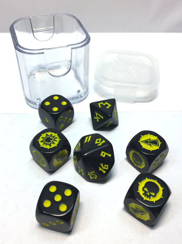 Blood Bowl - Goblin Dice Set - Games Workshop