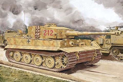 Dragon 6947 - TIGER I LATE PRODUCTION W/ZIMMERIT (NORMANDY 1944) - 1:35