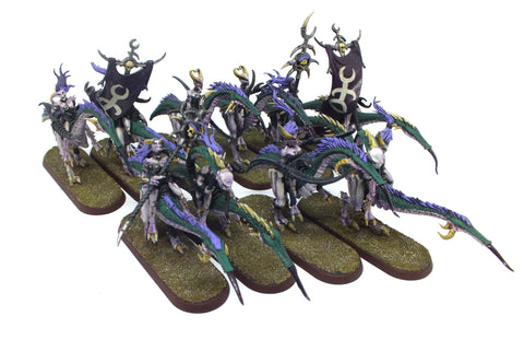 Warhammer Fantasy - Daemons of Chaos - Daemonette Slaanesh mounted - 28mm