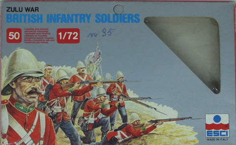 Esci - British infantry soldiers - 1:72 (empty box)