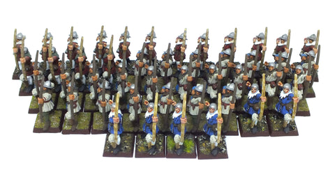 Warhammer Fantasy - Bretonnian Bowmen painted - 28mm