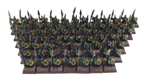Warhammer Fantasy - Goblin warriors (painted) - 28mm