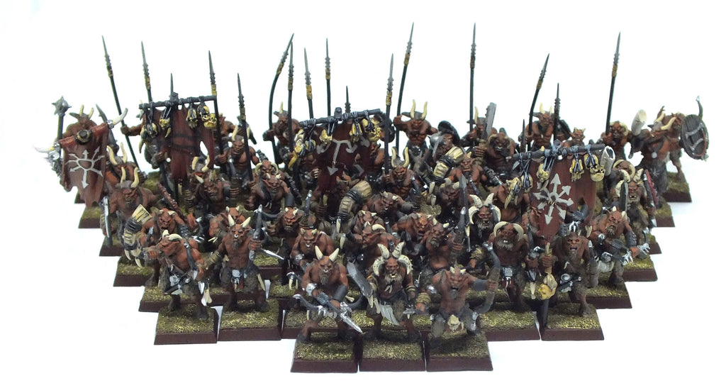 Warhammer Fantasy - Beastmen gor (painted) - 28mm