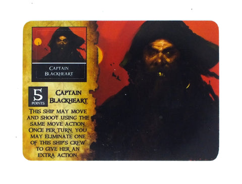 Wizkids Pirates - Captain Blackheart - PC-002