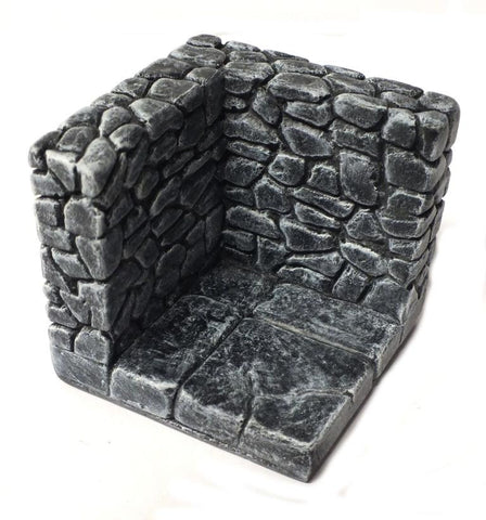 Scenery - Corner piece - 28mm - UNPAINTED - ES279