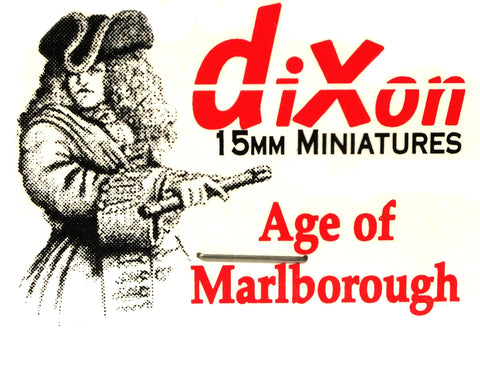 Dixon - Musketeer, marching - 15mm