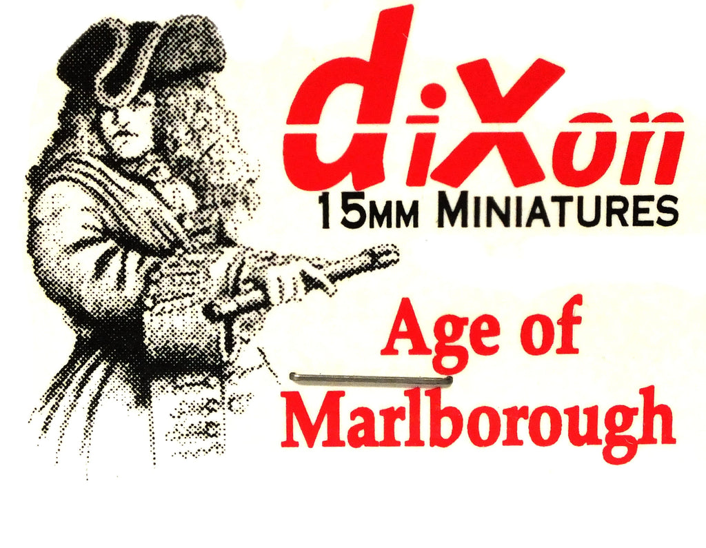 Dixon - Musketeer, at attention - 15mm