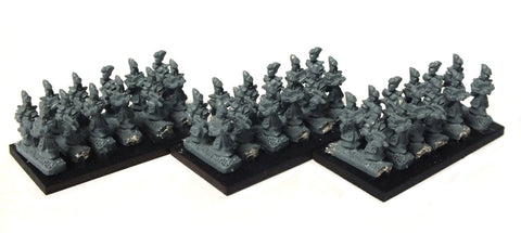 Warmaster - Dark Elves Crossbowmen - 10mm