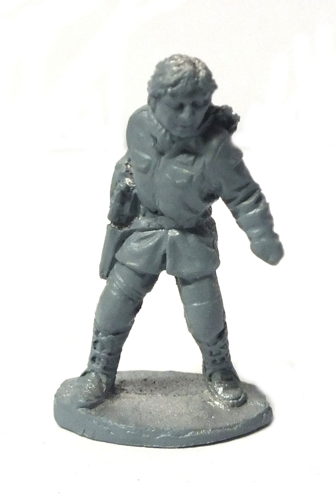 Star Wars - Han Solo on Hoth (West End Game) The empire strikes back - 25mm - SW44