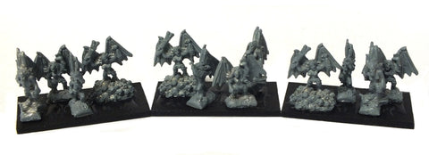 Warmaster - Dark Elves Harpies - 10mm