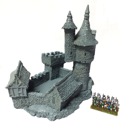 Forge World for Warmaster - Wizard's Castle - 10mm