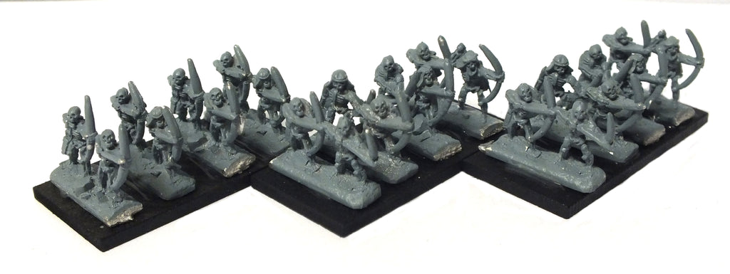Warmaster - Undead Skeleton Bowmen - 10mm