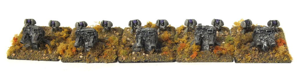 Epic - Space marine tarantulas - 6mm