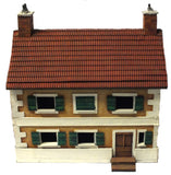 Scenery -  Wargame - Townhouse with peak roof - 28mm