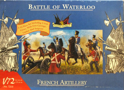 Accurate Figures Ltd. - French artillery - 1:72