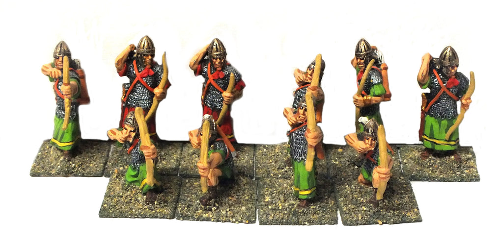 Roman oriental archers - 28mm (PAINTED)