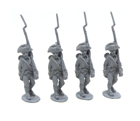 Fife & Drum - Continental marching, breeches, tumpline (x4) - 28mm